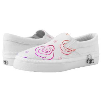 Roses Slip On Shoes