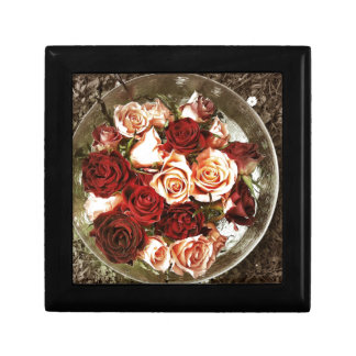 Roses Small Square Gift Box
