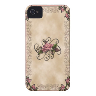 Roses Swirls iPhone4 4s iPhone 4 Covers