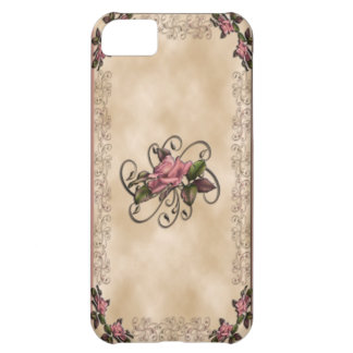 Roses & Swirls iPhone4 Cover For iPhone 5C