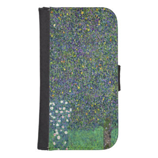 Roses under the Trees, c.1905 Samsung S4 Wallet Case