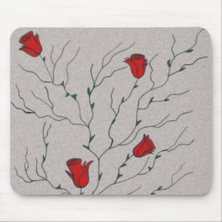 Roses & Vines Mousepads