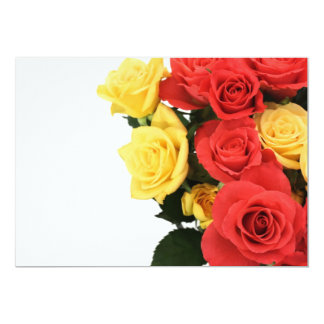 Roses with copy space card