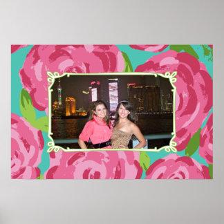 Roses with Custom Photo Print