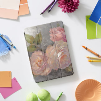 Roses with Gray iPad Air Cover