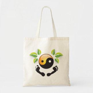 Rose's Wohlfühl Oase Baumwolle Einkaufstasche 2 Budget Tote Bag
