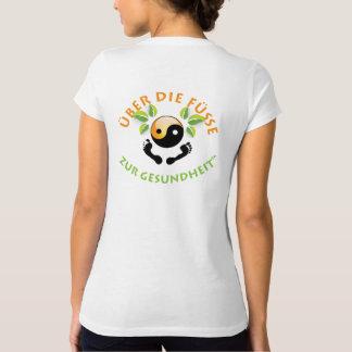 Rose's Wohlfühl Oase Frauen V-Ausschnitt T-shirt