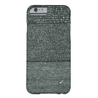 Rosetta Stone Ancient Egyptian hieroglyphs Barely There iPhone 6 Case