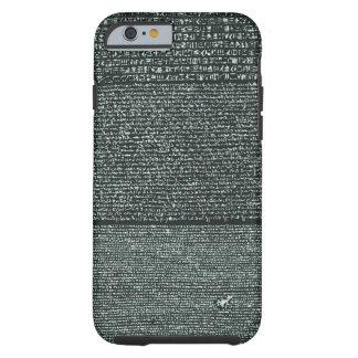 Rosetta Stone Ancient Egyptian hieroglyphs Tough iPhone 6 Case