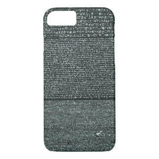 Rosetta Stone Ancient Egyptian hieroglyphs iPhone 7 Case