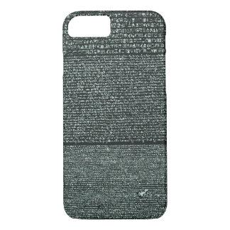 Rosetta Stone Ancient Egyptian hieroglyphs iPhone 7 Case