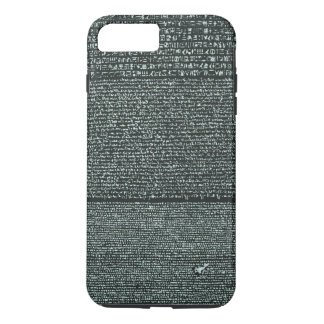 Rosetta Stone Ancient Egyptian hieroglyphs iPhone 7 Plus Case