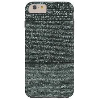 Rosetta Stone Ancient Egyptian hieroglyphs Tough iPhone 6 Plus Case