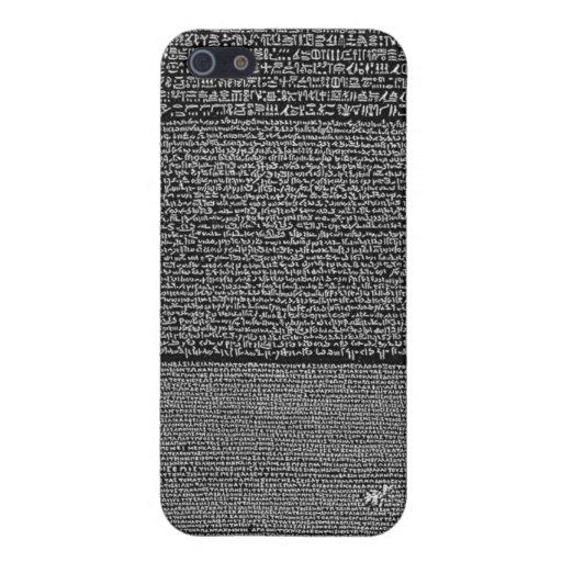 Rosetta Stone Case Cover For iPhone 5
