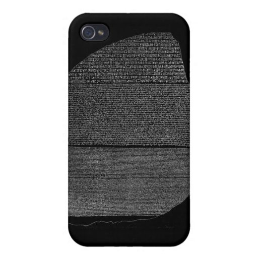 Rosetta Stone iPhone 4 Case