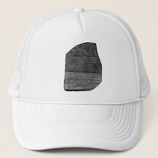 Rosetta stone trucker hat
