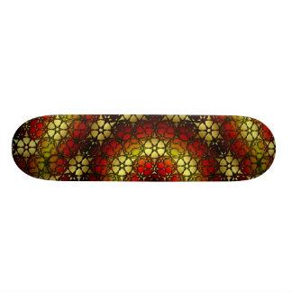 Rosette 6 Neg Skateboard
