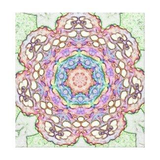 Rosette Canvas Print