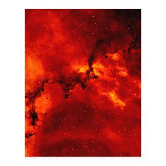 Rosette Nebula 21.5 Cm X 28 Cm Flyer