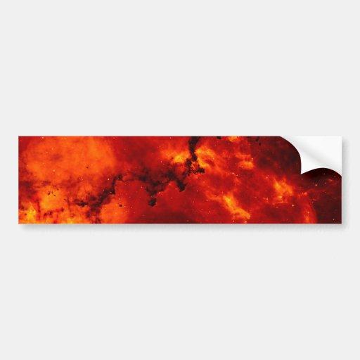 Rosette Nebula Photo Bumper Sticker