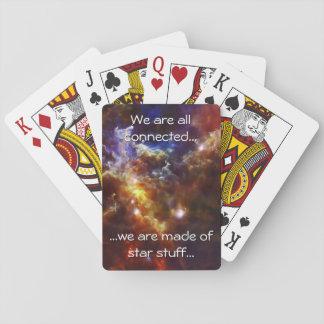 Rosette Nebula s Stellar Nursery Playing Cards