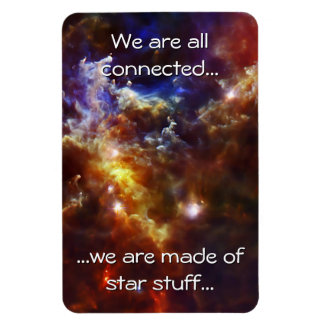 Rosette Nebula's Stellar Nursery Magnet