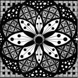 Rosette Acrylic Cut Outs