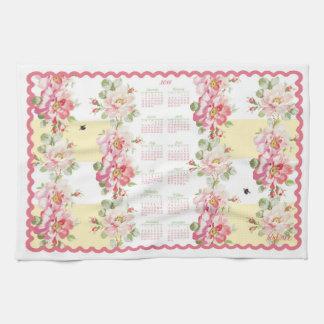 Rosewitha 2018 Calendar Towel buttercup stripe
