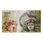 Rosey Dolly Double-Sided Standard Business Cards (Pack Of 100)