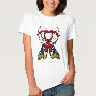 Rosey Heart T-shirts