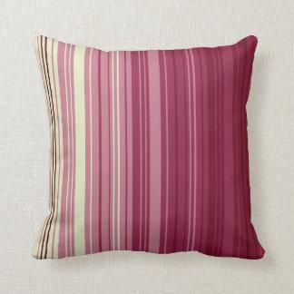 Rosey Mum Multi Stripe Cushion