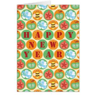 Rosh Hashana circles card