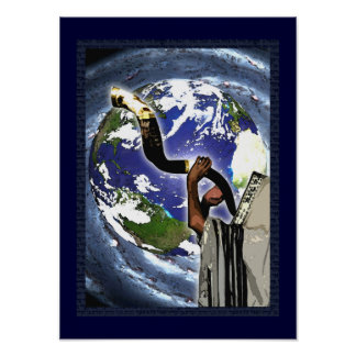 Rosh Hashanah Earth Posters & Prints