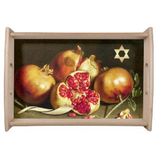 Rosh Hashanah | Jewish New Year Fine Serving Tray