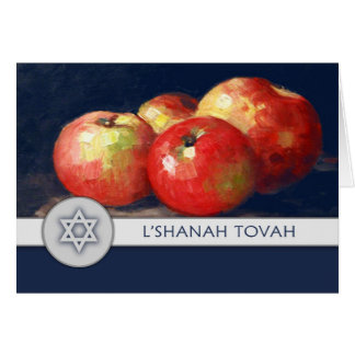 Rosh Hashanah. Jewish New Year Greeting Card
