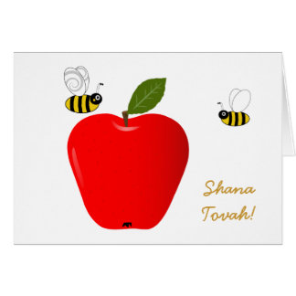 Rosh Hashanah Jewish New Year Greeting Card
