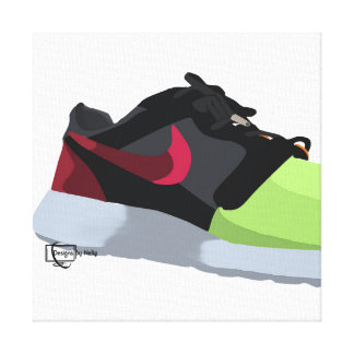 Roshe Run Volt Stretched Canvas Prints