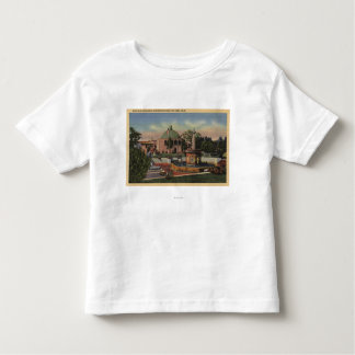 Rosicrucian Park, Fountain and Garden View T Shirt