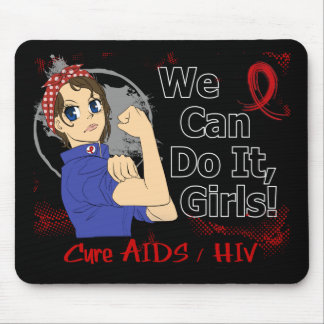 Rosie Anime WCDI AIDS Mouse Pad