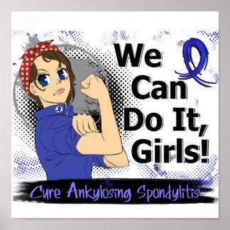 Rosie Anime WCDI Ankylosing Spondylitis Poster