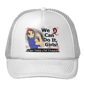 Rosie Anime WCDI Sickle Cell Disease Hats