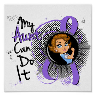 Rosie Aunt Can Do It H Lymphoma Posters