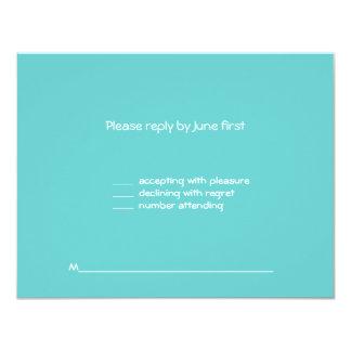 Rosie Bat Mitzvah Sweet 16 RSVP 11 Cm X 14 Cm Invitation Card