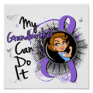 Rosie Grandmother Can Do It H Lymphoma Posters