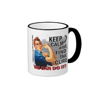 Rosie Keep Calm Carcinoid Cancer png Coffee Mug