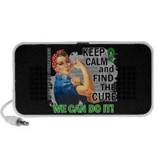 Rosie Keep Calm Depression.png Mini Speakers