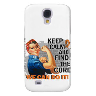 Rosie Keep Calm Multiple Sclerosis png Samsung Galaxy S4 Case