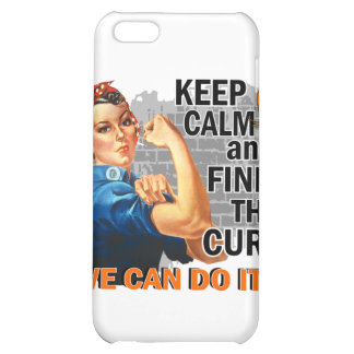 Rosie Keep Calm Multiple Sclerosis png iPhone 5C Covers