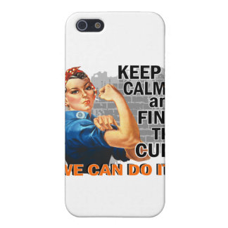 Rosie Keep Calm Multiple Sclerosis png iPhone 5 Covers