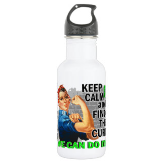 Rosie Keep Calm NH Lymphoma.png 532 Ml Water Bottle